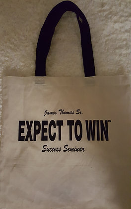 Expect To Win Success Seminar Tote