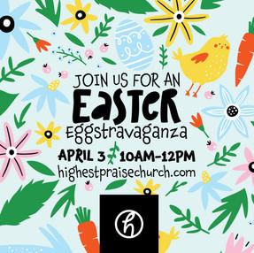 Easter Eggstravaganza Egg Hunt