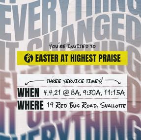 Easter at Highest Praise