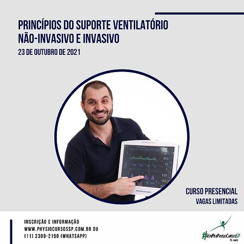 Princípios do Suporte Ventilatório Não-Invasivo e Invasivo