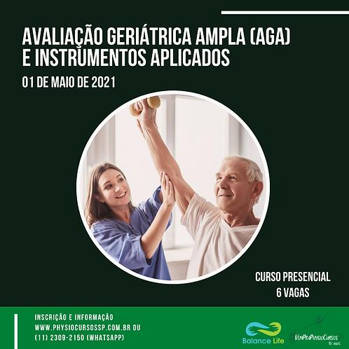 Avaliação Geriátrica Ampla (AGA) e Instrumentos Aplicados - Presencial