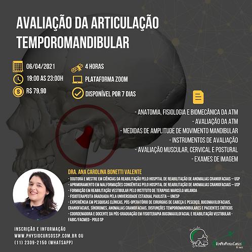 Avaliação da Articulação Temporomandibular