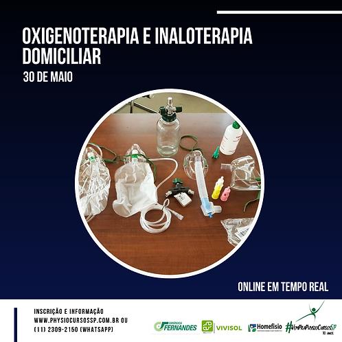 Oxigenoterapia e Inaloterapia Domiciliar