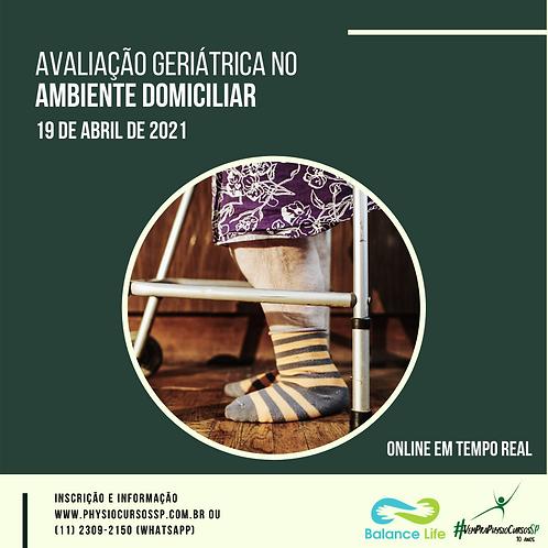 Avaliação geriátrica no ambiente domiciliar