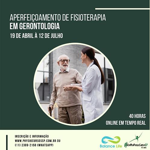 Aperfeiçoamento de Fisioterapia em Gerontologia