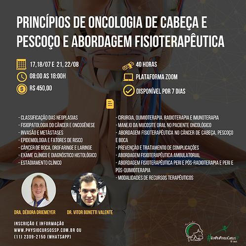 Princípios de oncologia de cabeça e pescoço e abordagem fisioterapêutica