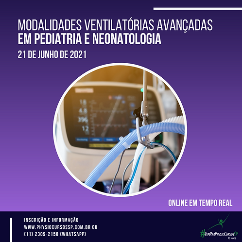 Modalidades ventilatórias avançadas em Pediatria e Neonatologia