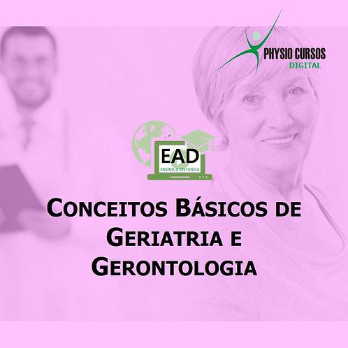CURSO DE CONCEITOS BÁSICOS DE GERIATRIA E GERONTO