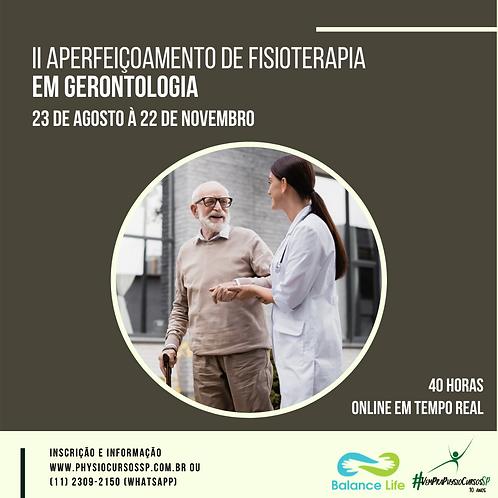II Aperfeiçoamento de Fisioterapia em Gerontologia
