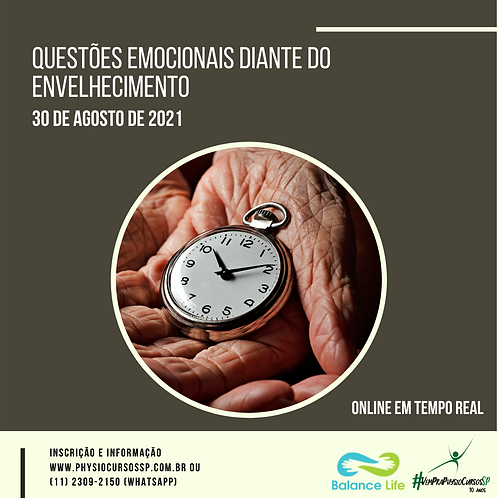 Questões emocionais diante do envelhecimento