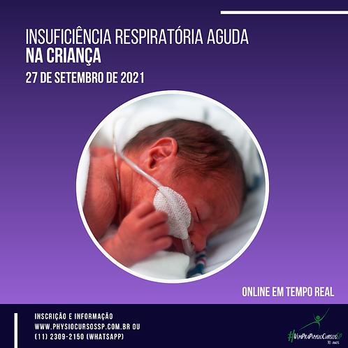 Insuficiência respiratória aguda na infância