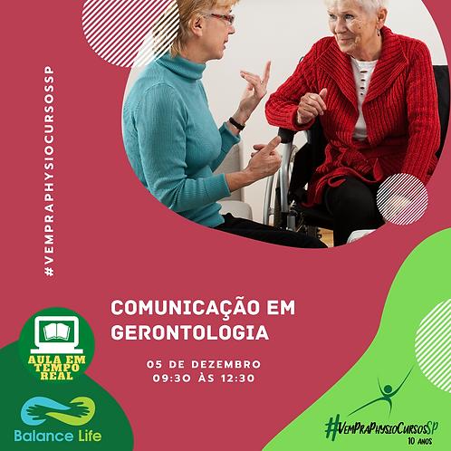 Comunicação em gerontologia