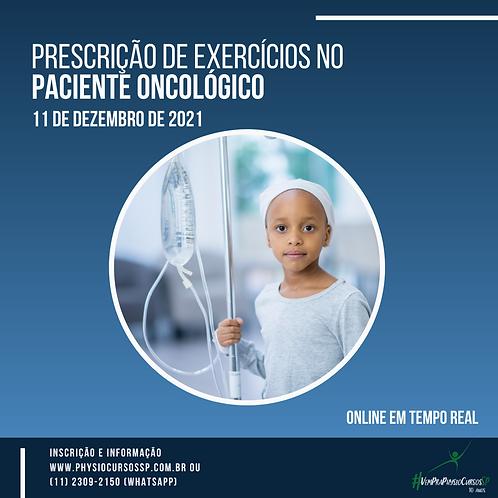 Prescrição de Exercícios no Paciente Oncológico