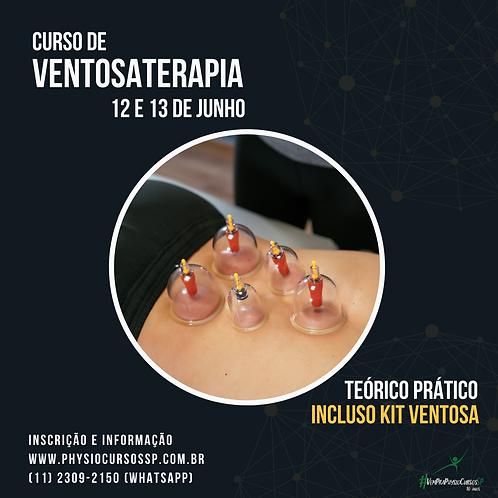 Curso de Ventosaterapia - Teórico Prático -  Turma JUNHO