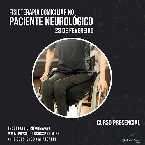 Fisioterapia domiciliar no paciente neurológico