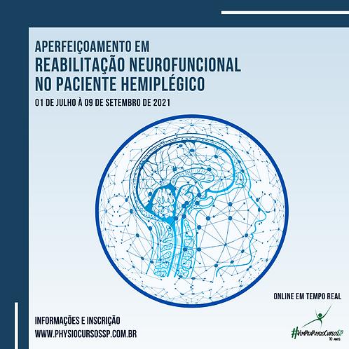 Aperf. em Reabilitação Neurofuncional no Paciente Hemiplégico