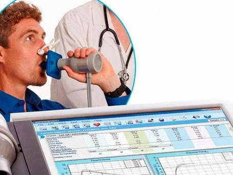 Testes de função pulmonar: conheça um pouco mais sobre a espirometria