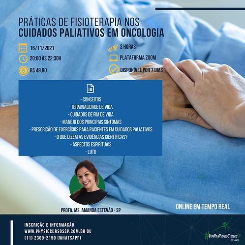 Práticas de Fisioterapia nos Cuidados Paliativos em Oncologia