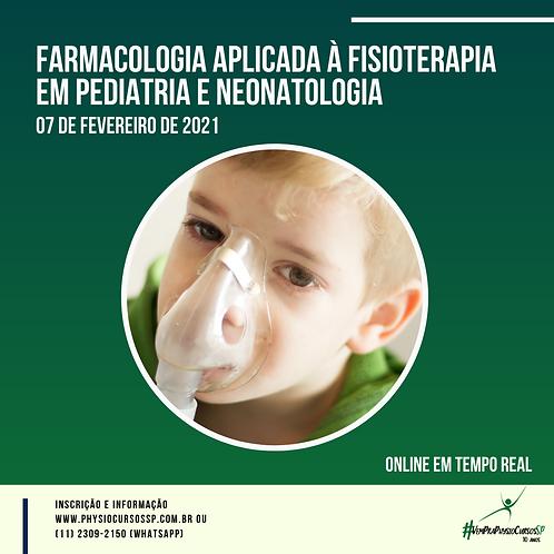 Farmacologia aplicada à fisioterapia em pediatria e neonatologia