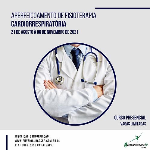 Aperfeiçoamento de Fisioterapia Cardiorrespiratória - Presencia