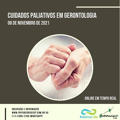 Cuidados Paliativos em Gerontologia