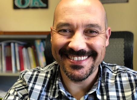 David Santos habla sobre las estancias formativas.