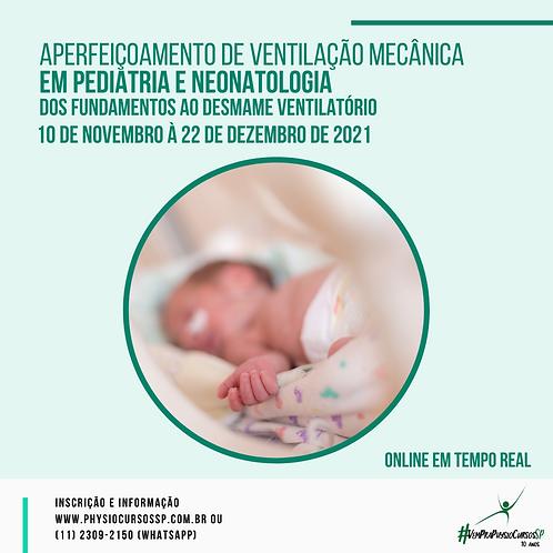 Aperfeiçoamento de Ventilação Mecânica em Pediatria e Neonatologia