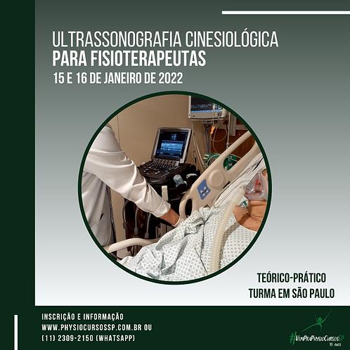Ultrassonografia cinesiológica para fisioterapeutas - TURMA JANEIRO