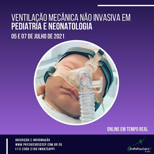 Ventilação mecânica não invasiva em Pediatria e Neonatologia
