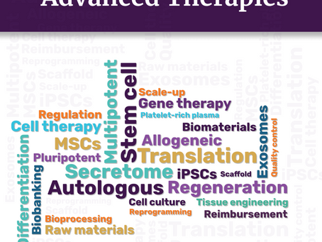 SSC Bio contributes to a new Glossary for Advanced Therapies published by Regenerative Medicine