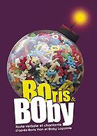 """Affiche """"Boris & Boby"""""""