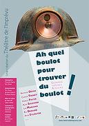 On n'arrête pas le progrès ! avec Eric cénat et François Rascal, un spectacle produit par le Théâtre de l'Imprévu, Orléans.