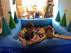 Inflatable Ball Pool!