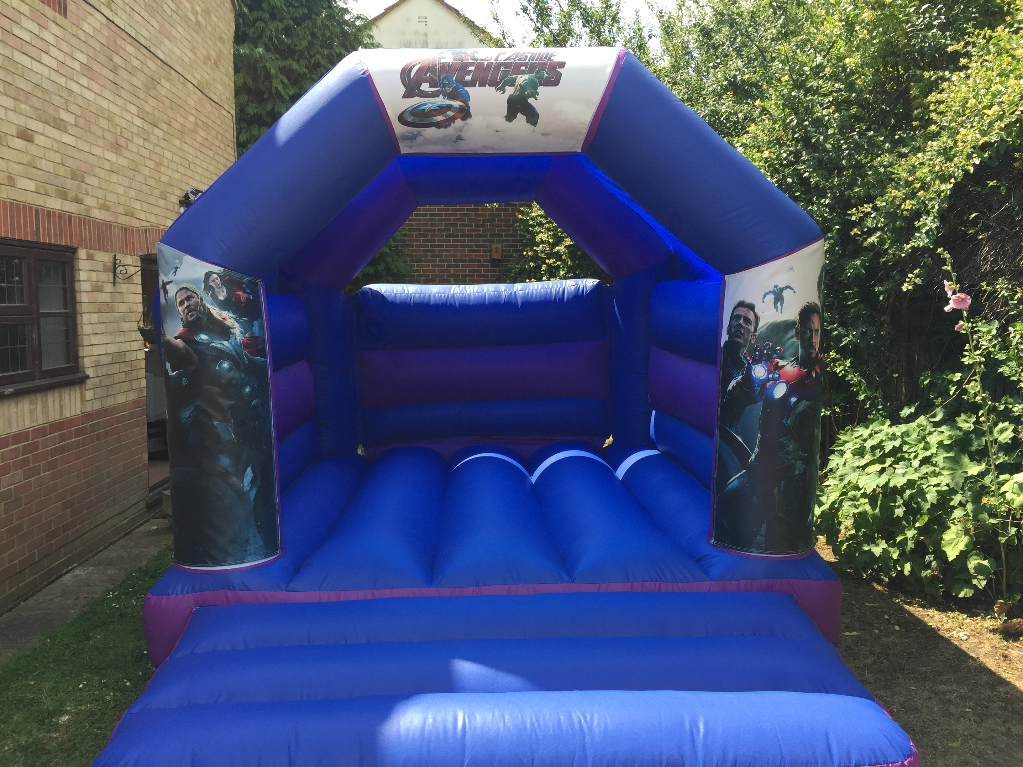 Super Hero Bouncy Castle!