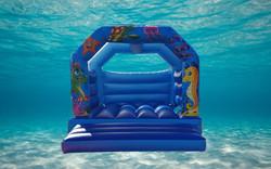 underwater toddler