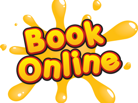 You can now book online!!