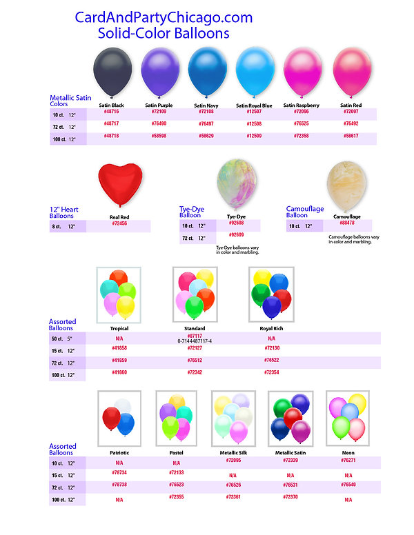 CardAndPartyChicago-Solid_Color_Balloons