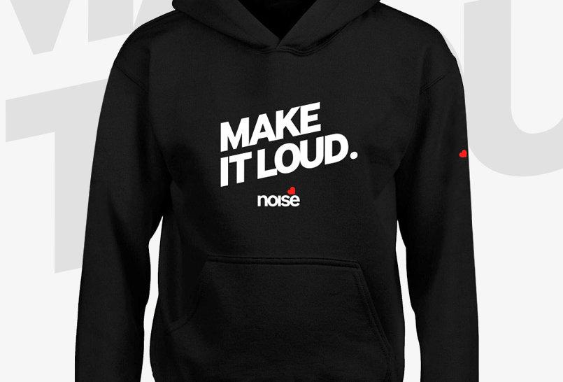 Noise Make it Loud Hoodie