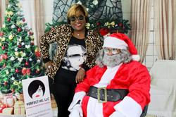 Nicole and Santa
