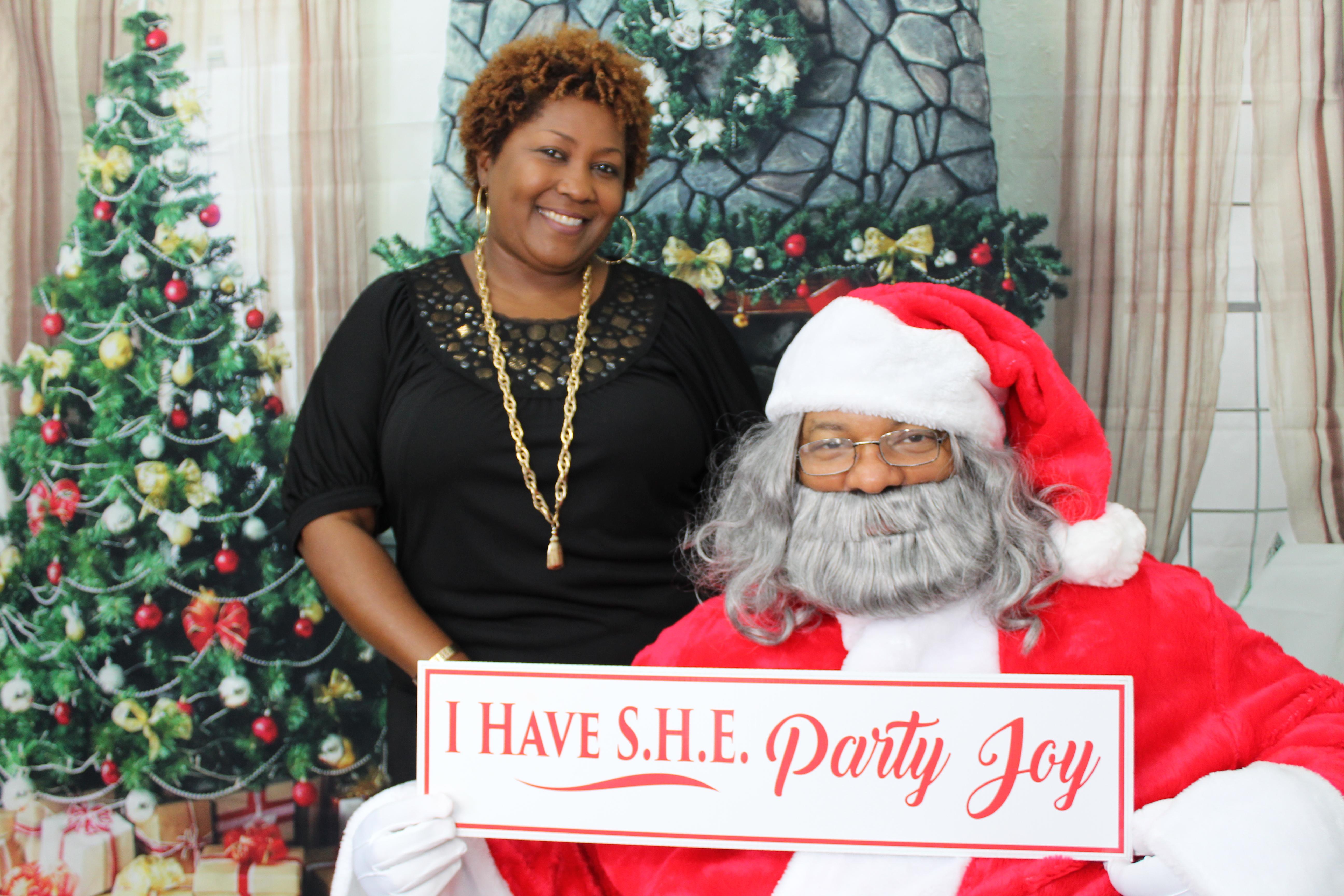 Tan and Santa