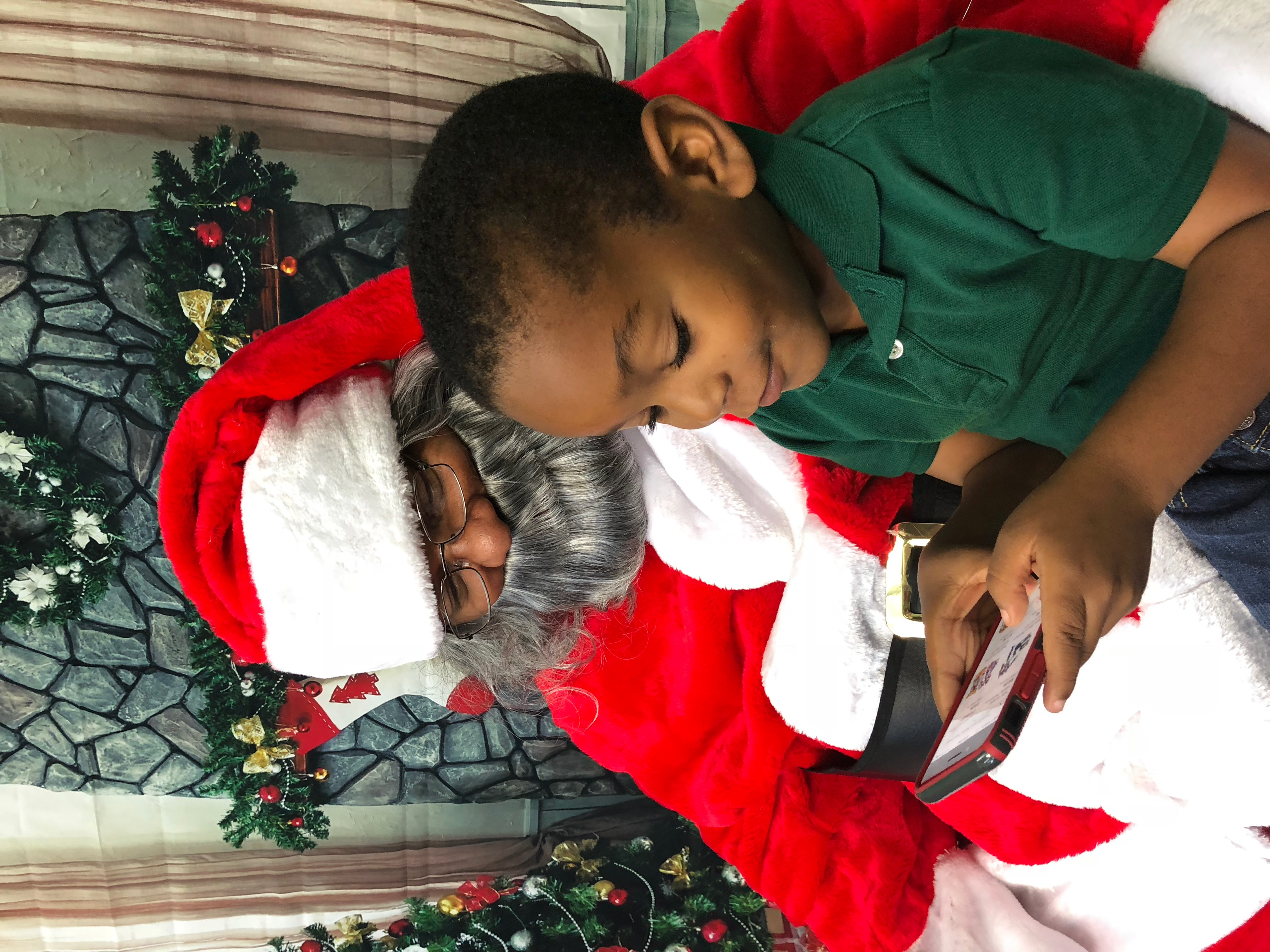 Santa and Gavin