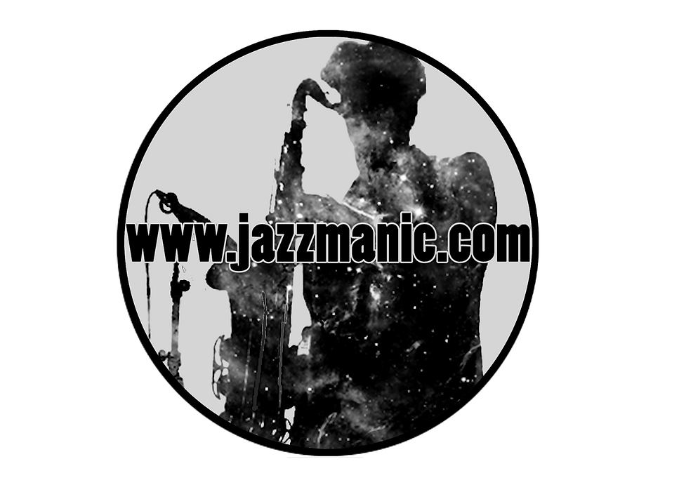 www.Jazzmanic.com silhouette sax player with tenor