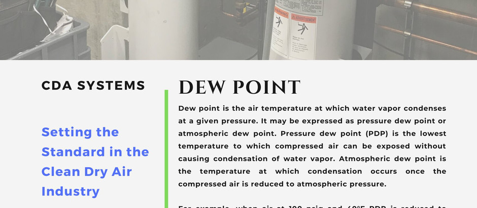 ISSUES WITH DEWPOINT?