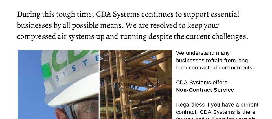 CDA Systems Will Service Any Customer With or Without Contract