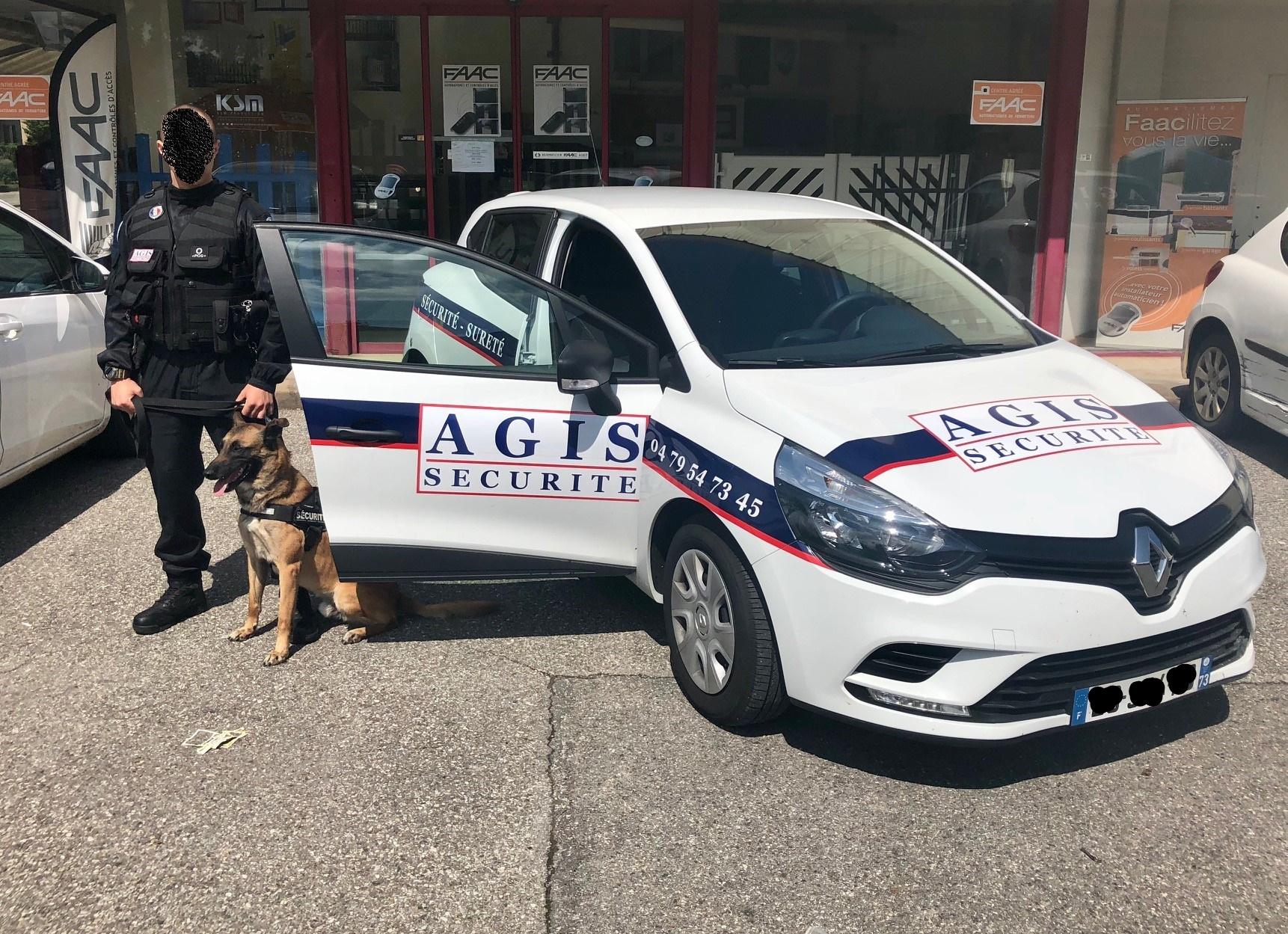 AGIS sécurité - ronde