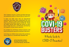 Covi 19 Busters A kids guide to COVID 19