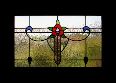'ROSE' WINDOW PANEL