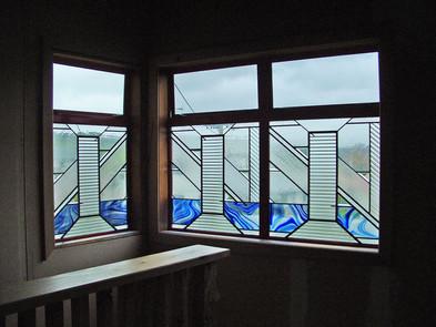 STAIRWELL WINDOW PANELS