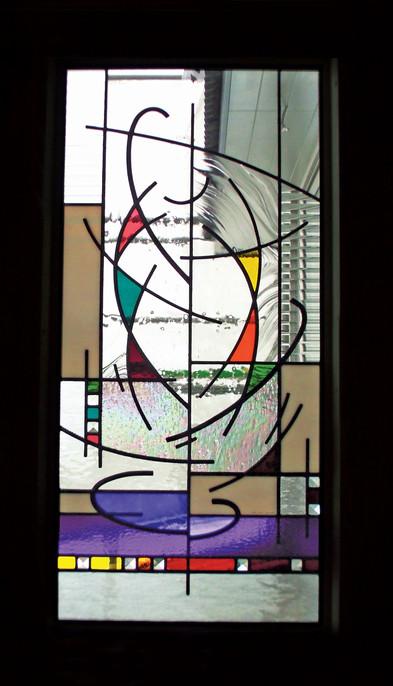 'TREE OF LIFE' WINDOW PANEL