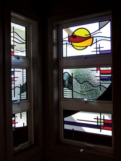 BATHROOM WINDOW PANELS
